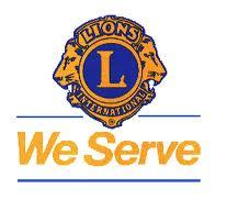 Lions Emblem We Serve